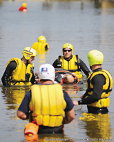 Swift Water Rescue Exercise